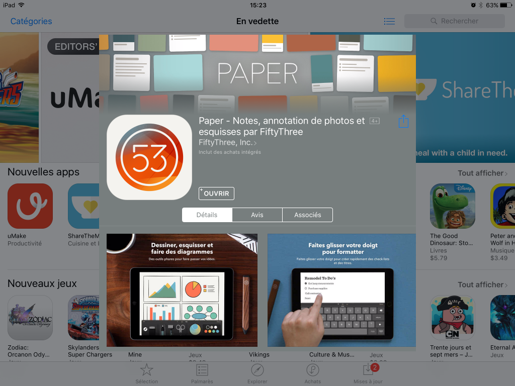 Les 8 meilleures apps pour dessins, sketchs et notes sur tablette