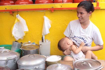 photos allaitement autour du monde philippines
