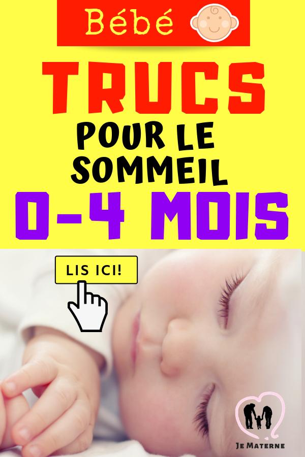 6 conseils maternants pour le sommeil 0-4 mois sur JeMaterne.com #maman #bébé #sommeil #maternage #allaitement #dodo #cododo #enceinte #grossesse #chambre #fille #garçon