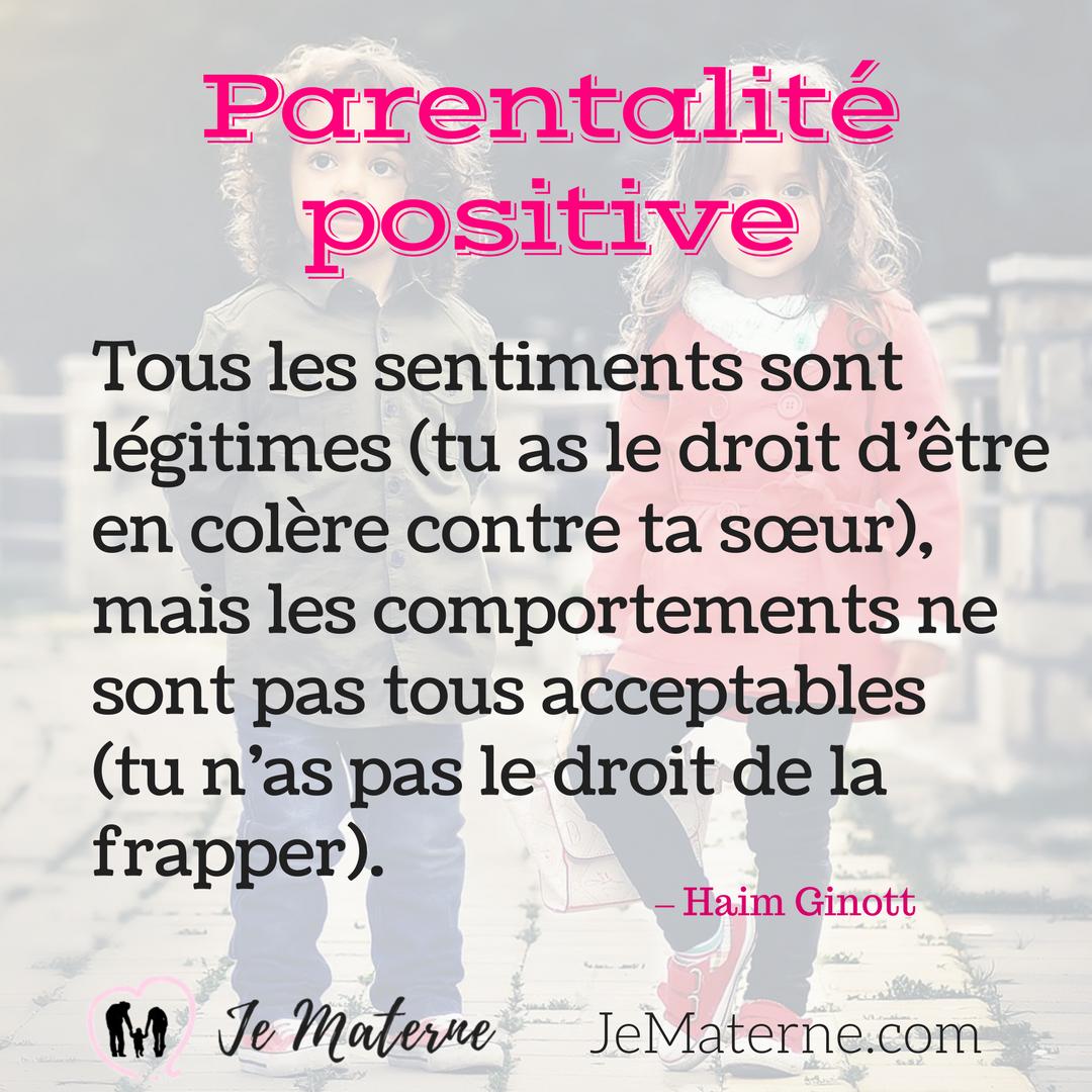 Parentalité positive citation
