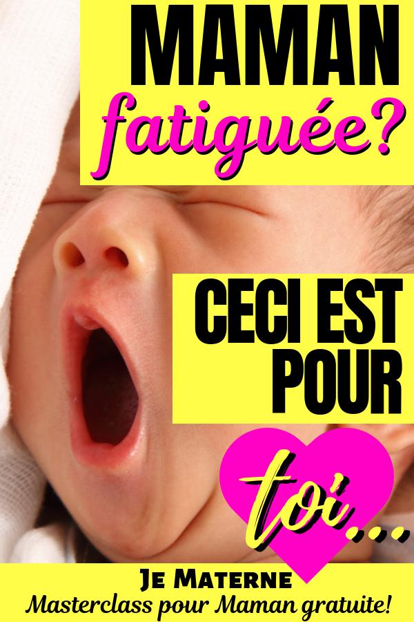 Maman fatiguée? Ceci est pour toi! * Top inspiration #famille #enfants #bébé