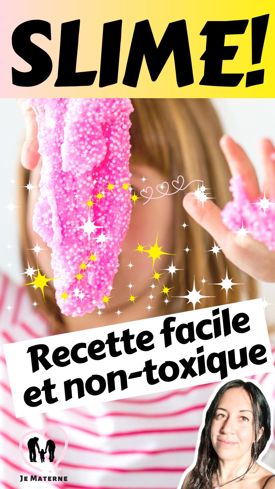 Recette de Slime (Glue) super facile (et non-toxique)! #recette #slime #glue #nontoxique #facile #activitésenfants #enfants #famille #toutpetit #science #ief #éducation #apprendre